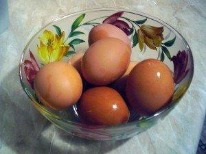 Яйца для прогрева носа