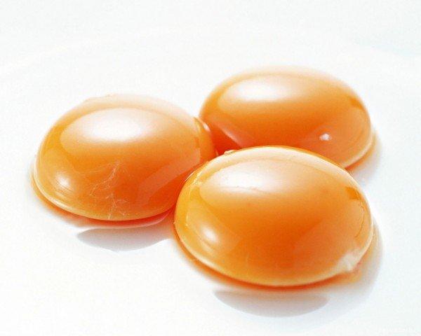 Три яичных желтка