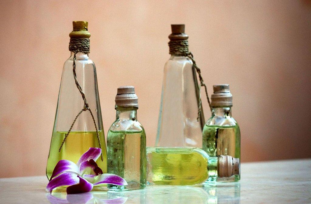 Касторовое масло в бутылке