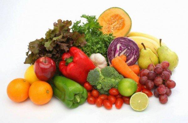 овощи фрукты повышенном холестерине