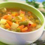 Овощные и вегетарианские супы
