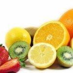 Кислые фрукты и ягоды