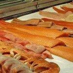 Жирная рыба разных сортов