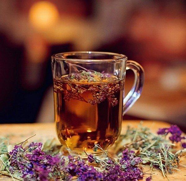 Чай счабрецом