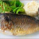 Блюдо из морской рыбы