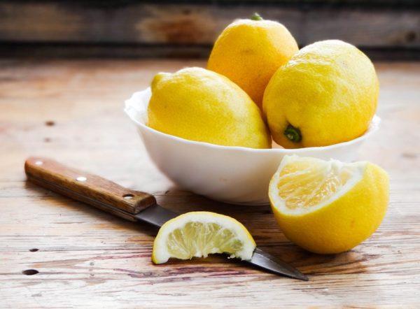 Лимоны инож