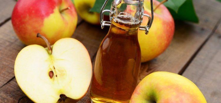 Лечебное применение яблочного уксуса от перхоти