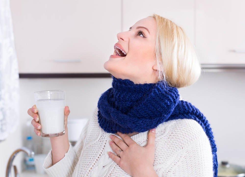 Ангина (Воспаление миндалин) или лечить ангину в домашних условиях