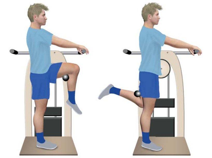 Упражнения при коленном артрозе