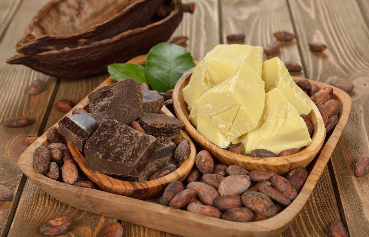 Масло какао и семена