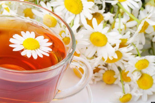 Чай из ромашки аптечной