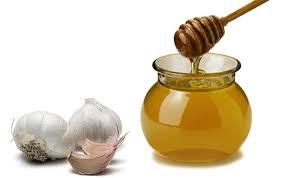 Чеснок и мёд