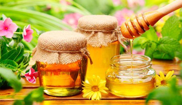 Баночки с натуральным мёдом