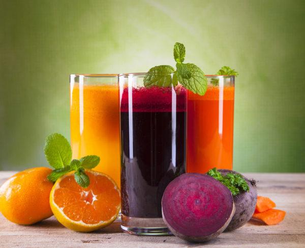 Овощные и фруктовы соки