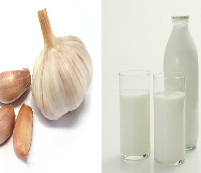 чеснок с молоком от паразитов отзывы