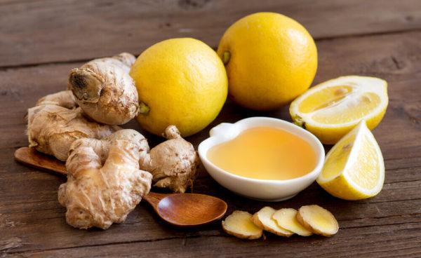 Имбирь, лимон и мёд для здоровья