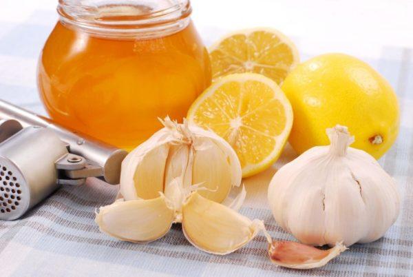 Мёд, чеснок и лимон