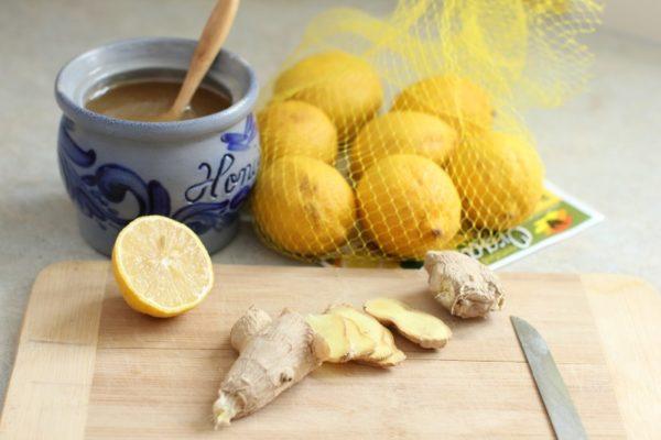 Мёд + имбирь + лимон