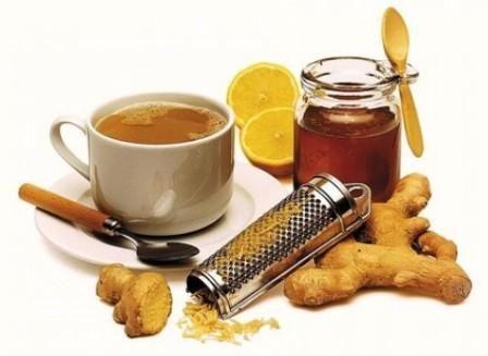 Мёд, имбирь, лимон