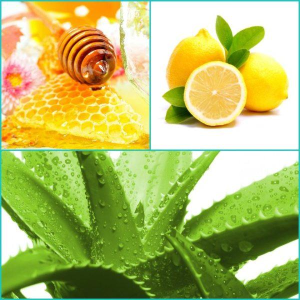 Мёд с алоэ и лимоном