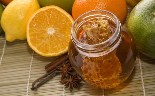 Мёд с цитрусовыми