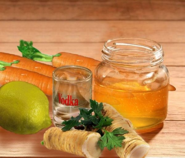 Мёд с корнеплодами и лимоном