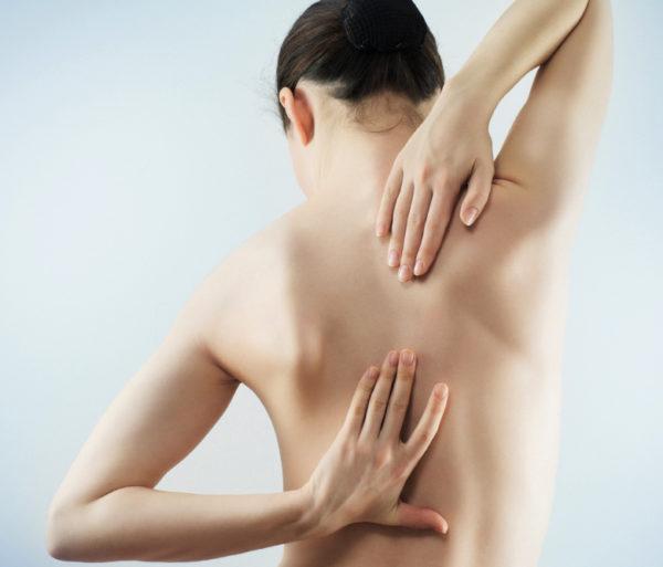 Участок боли при плечелопаточном периартрите