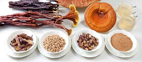 Различные лекарственные формы рейши
