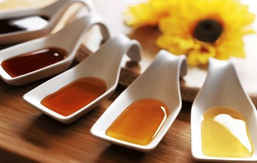 Разные сорта мёда