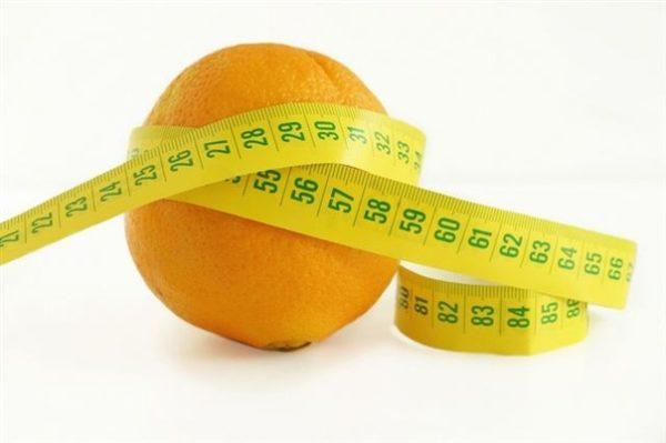 Апельсин с портняжьей лентой