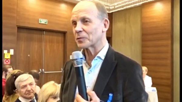 Доктор Огулов на встрече с учениками