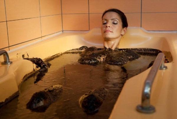 ванна с глиной