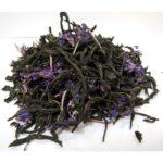 Чёрный иван-чай с цветами