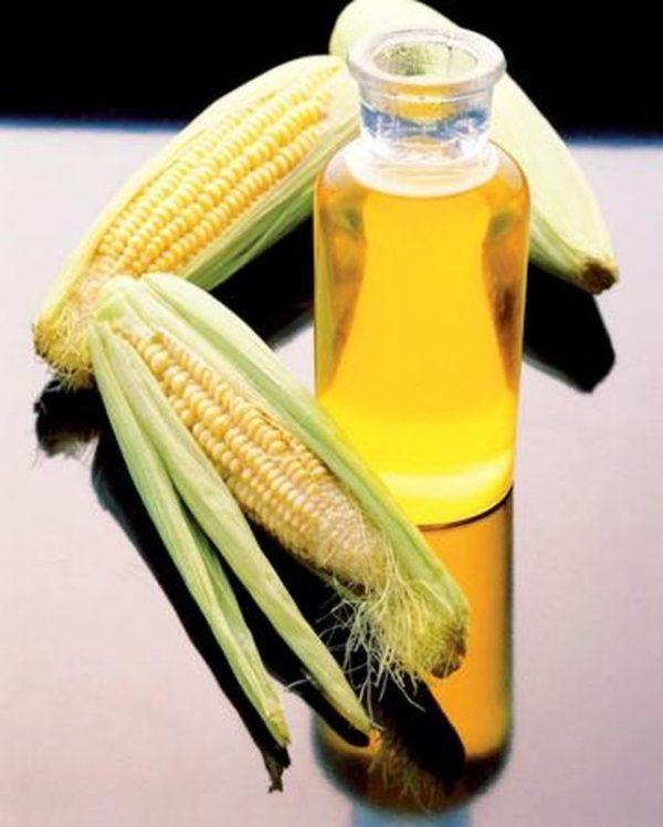 Кукурузные початки и масло