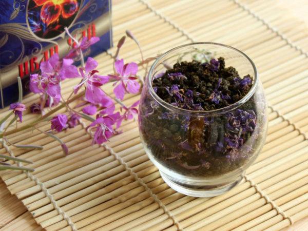 Заготовленные цветы иван-чая