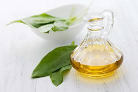Черемша и растительное масло