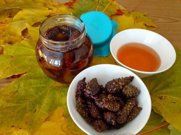 Варенье, мёд и цукаты из сосновых шишек
