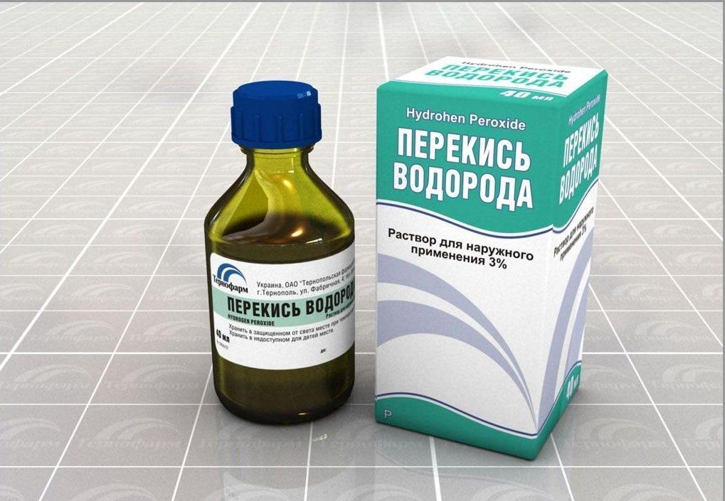 С лечением псориаза справится перекись водорода