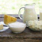 Жирные молочные продкты
