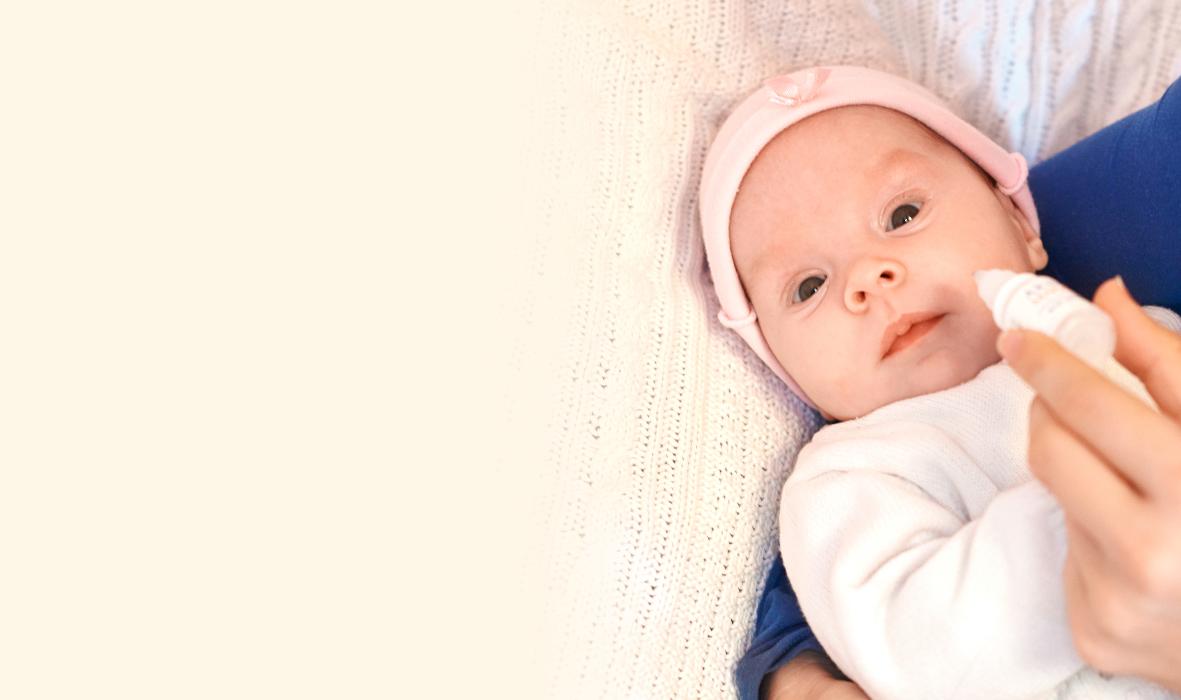 Насморк у новорожденного, что делать?